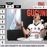 BJK TV spikerini kendisinden geçiren gol: Vida bayılt beni!