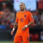Wesley Sneijder'den Dursun Özbek'e mesaj var