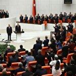 Erdoğan'ın yemin töreni sırasında 4 parti ayağa kalkmadı!