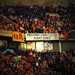 Galatasaray'dan Koray Şener pankartı