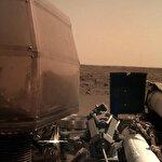 NASA Insight, Mars yüzeyinde çektiği ilk fotoğrafı paylaştı