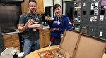 Kanadalı hava kontrolörlerinden ABD'li meslektaşlarına dayanışma pizzası