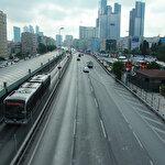 Tatilciler gidince İstanbul'da yollar boş kaldı