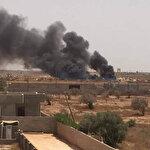 Libya Bingazi'de bomba yüklü araç infilak etti