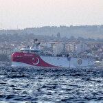 Yolun açık olsun Oruç Reis: Akdeniz'e doğru yola çıktı