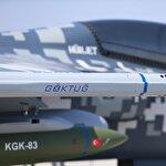 Türkiye'nin ilk hava-hava füzesi Göktuğ TEKNOFEST'te görücüye çıktı