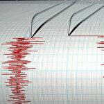 Bir anda sirenler çaldı: Canlı yayında deprem