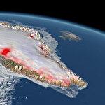 Grönland'de büyüt tehdit: 7 kat hızlı eriyor