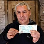 15 yıldır saklıyordu: 50 bin lira değer biçti