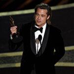 Brad Pitt, Oscar törenindeki konuşmasında Trump'a gönderme yaptı