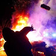 Koronavirüs paniği, Ukrayna'da protestolara neden oldu