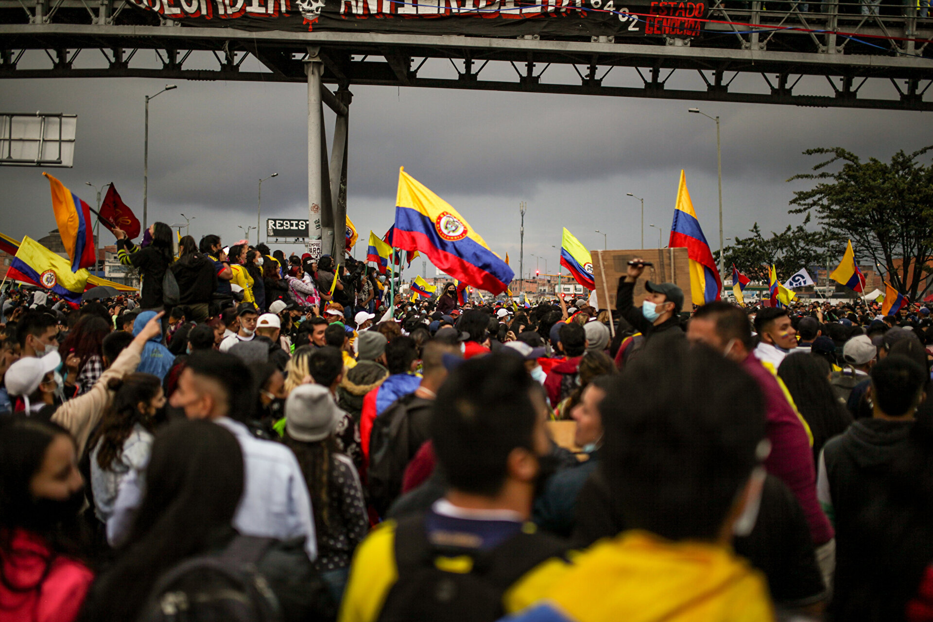 National strike in Colombia completes one month