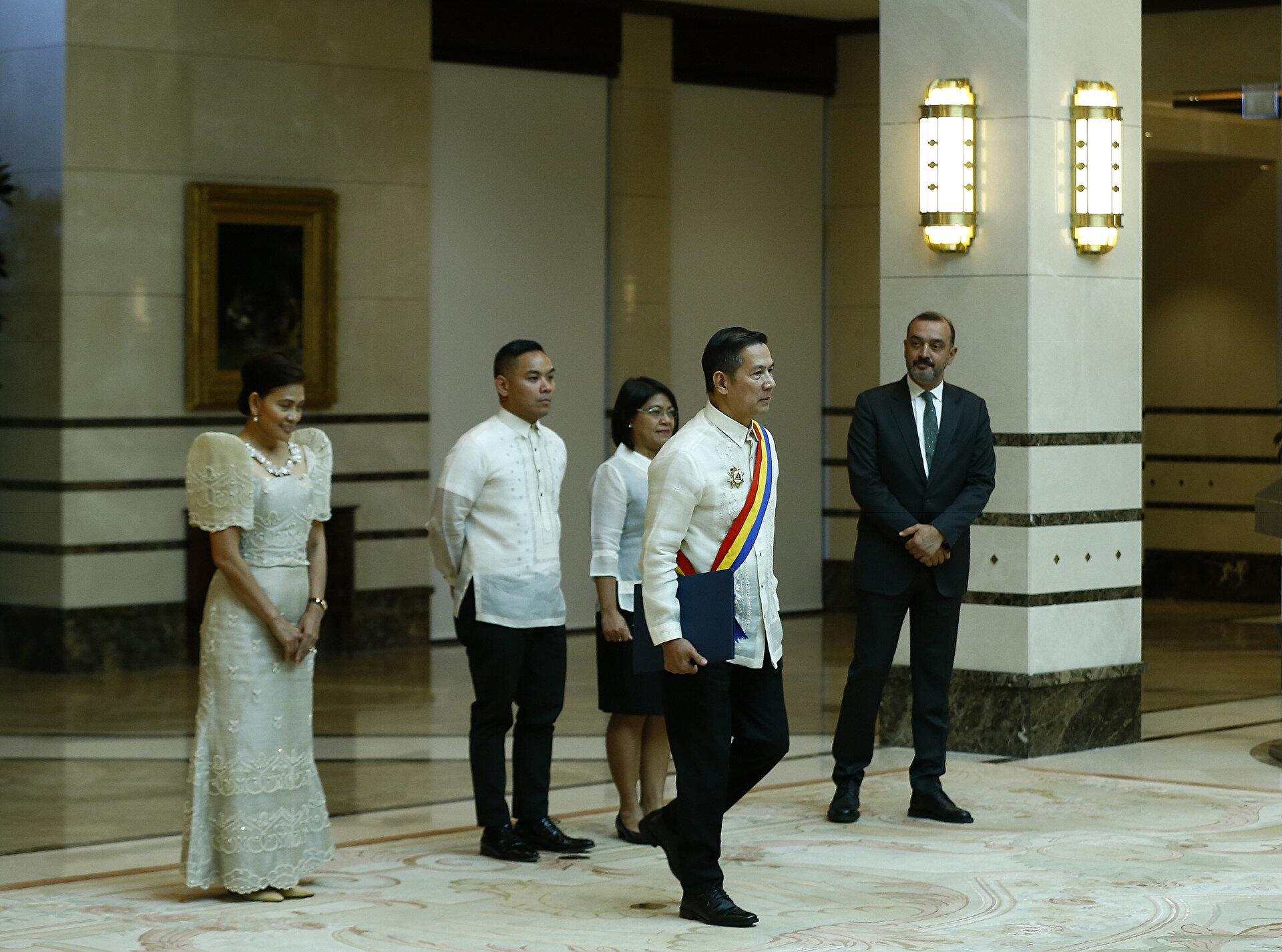 Philippine's ambassador presents letter of credence to Turkey's Erdoğan