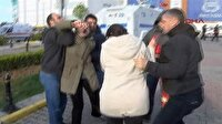 Terör yandaşı 2 kadın savcımızı şehit edenler için pankart açtı!