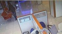 Güvenlik görevlisi banka soygununu engelledi