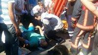 Sarıyer'de feci kaza: 1 ölü, 12 yaralı