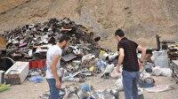 Hakkari'de hurdalıkta patlama: 2'si çocuk 4 yaralı