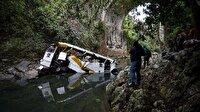 Takım otobüsü kaza yaptı: 20 ölü