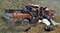 Cenazeye giden araç kaza yaptı: 4 ölü