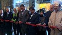 Davutoğlu Ayasofya'da açılışını yaptığı sergiyi gezdi