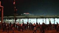 'Beleştepe'deki taraftarlara polis müdahalesi