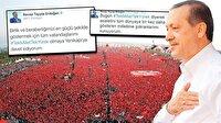 Cumhurbaşkanı Erdoğan'ın paylaşımı rekor kırdı