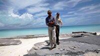 Obama Midway Adaları'nı ziyaret etti