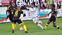 Elazığspor-Yeni Malatyaspor: 1-2 maçından önemli dakikalar