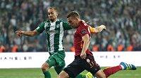Galatasaray Bursaspor ilk 11'ler belli oldu