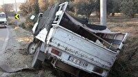 Balıkesir Yerel Haber: Kamyonet kaza yaptı: 11 yaralı