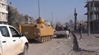 ÖSO El-Bab merkezine böyle girdi