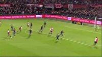 Feyenoord evinde Go Ahead Eagles'i gole boğdu!