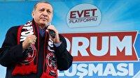 Cumhurbaşkanı Erdoğan: Bu iş yürek ister