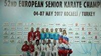 Türkiye, karatede 12 madalya kazandı-Spor haberleri