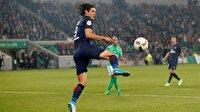 Fransa'nın en iyi oyuncusu Cavani oldu! Spor haberleri