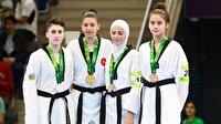 Nur Tatar ve Nafia Kuş'tan altın madalya-4. İslami Dayanışma Oyunları