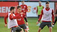 Galatasaray'da Aytemiz Alanyaspor maçı hazırlıkları başladı-Galatasaray haber
