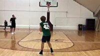 Antoine Griezmann'dan basket şov