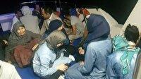 Sahil Güvenlik 18 mülteci yakaladı