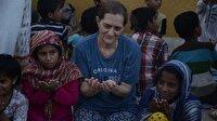 Müslüman İngiliz kadın Pakistan'da 500 yetime bakıyor