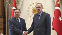 Erdoğan, Tunus Dışişleri Bakanı el-Cihinavi'yi kabul etti