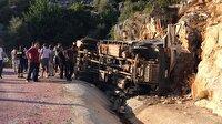 Antalya'da trafik kazası: 2 yaralı! Antalya haberleri