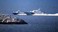 Son dakika: Yunan Sahil Güvenlik botu Türk Gemisine ateş açtı
