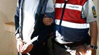 Suriye sınırında 'canlı bomba' düzeneğiyle yakalandı