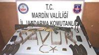 Mardin haber: Savur'da silah ve mühimmat ele geçirildi