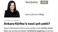 Ankara Körfez'e nasıl şah çekti?