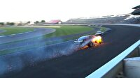 Nascar yarışında korkutan kazalar!