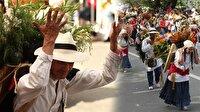 Kolombiya'da çiçek festivali sona erdi