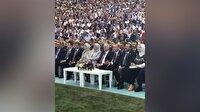 Cumhurbaşkanı Erdoğan Grup Tillo'ya eşlik etti