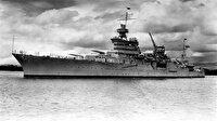 ABD'nin kayıp savaş gemisi 72 yıl sonra bulundu